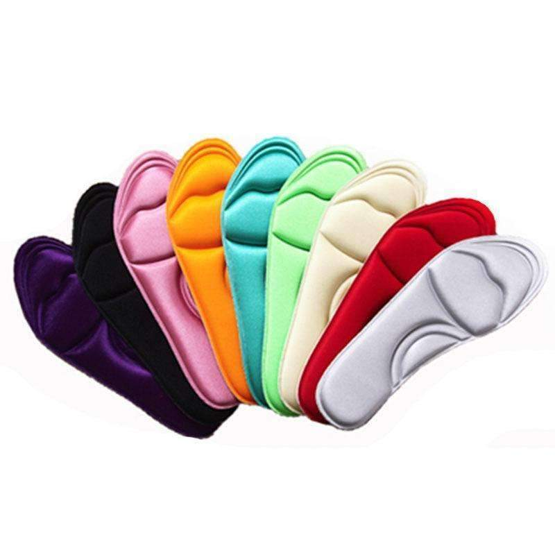 1 Pair NEW Unisex Memory Foam Custom massage Shoe Insoles Trainer Foot Care-24 to 26cm-JadeMoghul Inc.