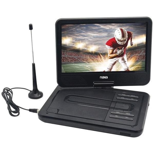 "10"" TFT LCD Swivel-Screen Portable DVD/TV/USB/SD(TM) Card Player-DVD Players & Recorders-JadeMoghul Inc."