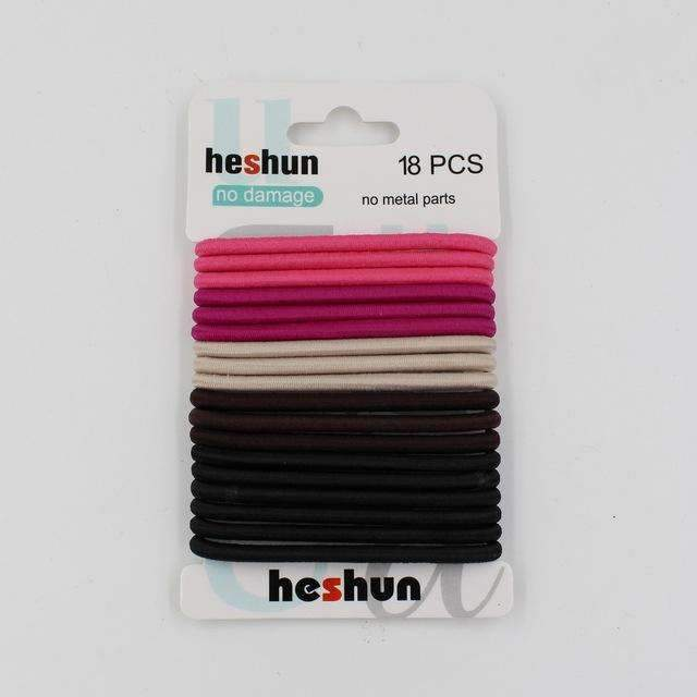 10pcs/pack Hair Tie Set 2016 Women Fashion Hair Bands Hair Accessories Trendy Hairband For Women Elastic Sets Braid Elastic-G Color-JadeMoghul Inc.
