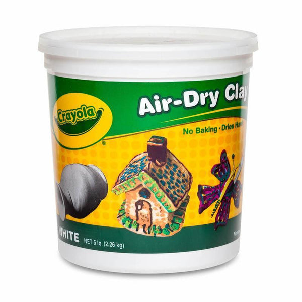 (2 EA) CRAYOLA AIR DRY CLAY 5 LBS-Arts & Crafts-JadeMoghul Inc.