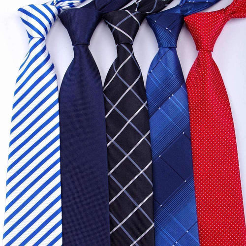 20 style Formal ties business vestidos wedding Classic Men's tie stripe grid 8cm corbatas dress Fashion Accessories men necktie-JadeMoghul Inc.