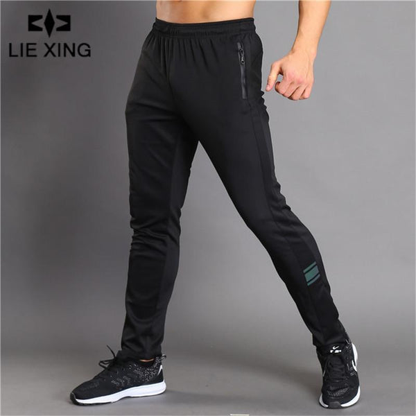 2018 GYMS New Men Pants Compress Gymming Leggings Men Fitness Workout Summer Sporting Fitness Male Breathable Long Pants-Black-L-JadeMoghul Inc.