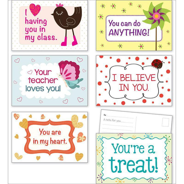 (3 EA) VALENTINES DAY POSTCARDS-Learning Materials-JadeMoghul Inc.