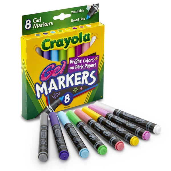 (4 BX) CRAYOLA 8CT PER BX GEL FX-Arts & Crafts-JadeMoghul Inc.