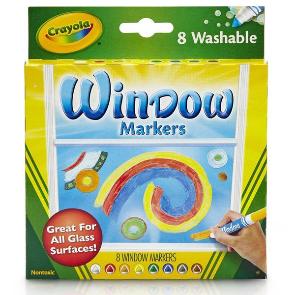 (4 BX) CRAYOLA 8CT PER BX WASHABLE-Arts & Crafts-JadeMoghul Inc.