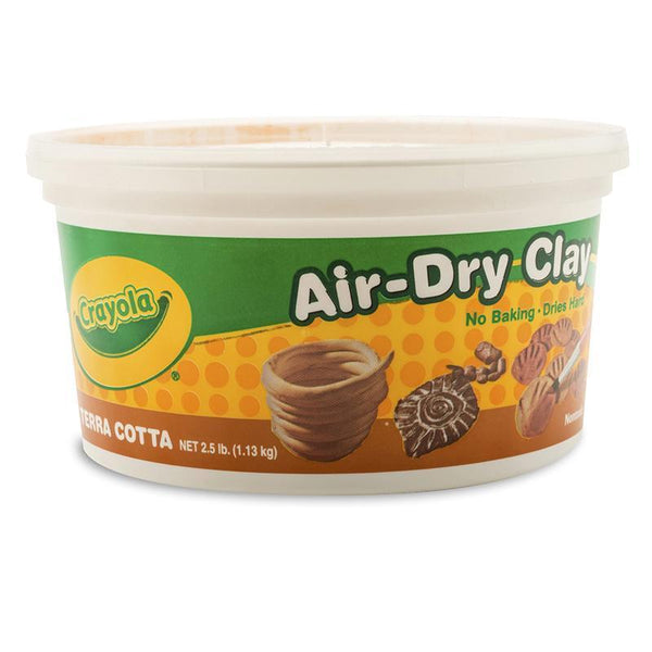(4 EA) CRAYOLA AIR DRY CLAY 2.5LB-Arts & Crafts-JadeMoghul Inc.