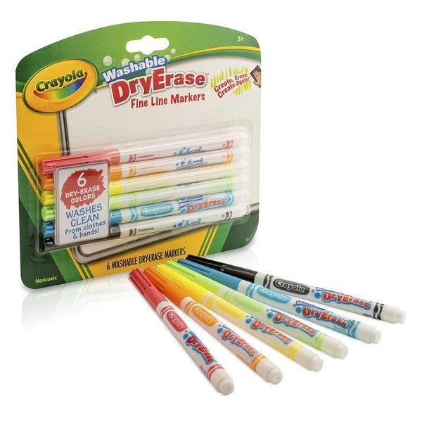 (4 PK) CRAYOLA COLOR WASHABLE DRY-Arts & Crafts-JadeMoghul Inc.