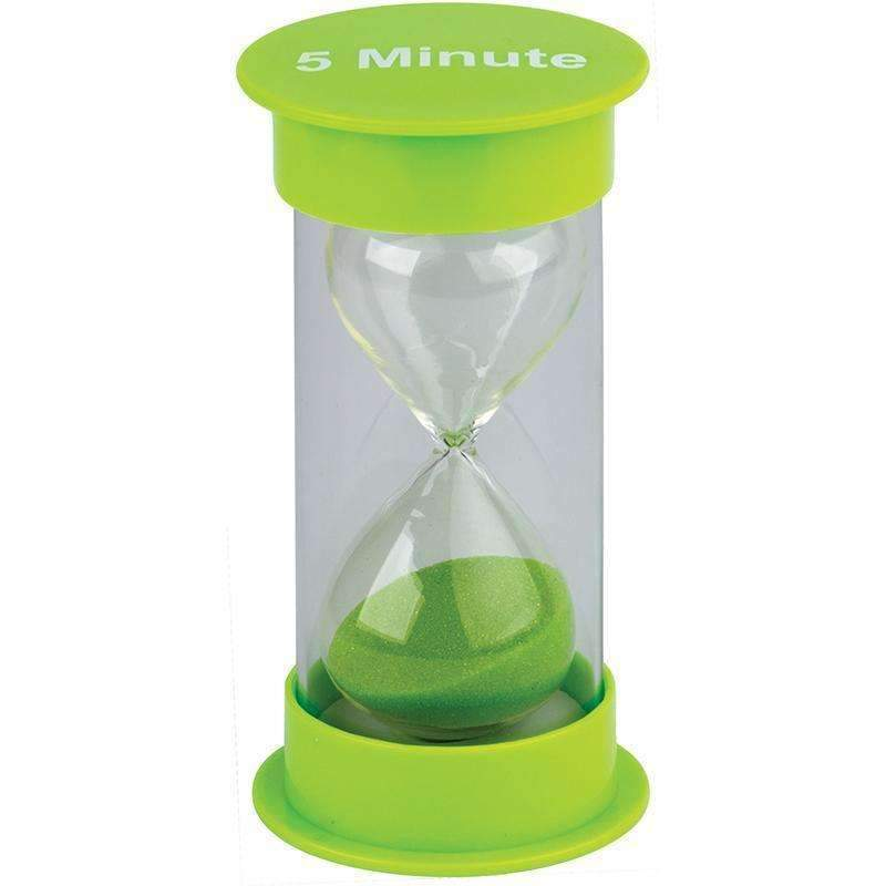 5 MINUTE SAND TIMER MEDIUM-Learning Materials-JadeMoghul Inc.