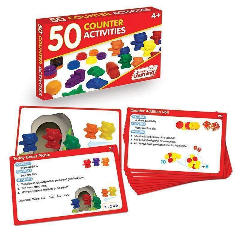 50 COUNTER ACTIVITIES-Learning Materials-JadeMoghul Inc.