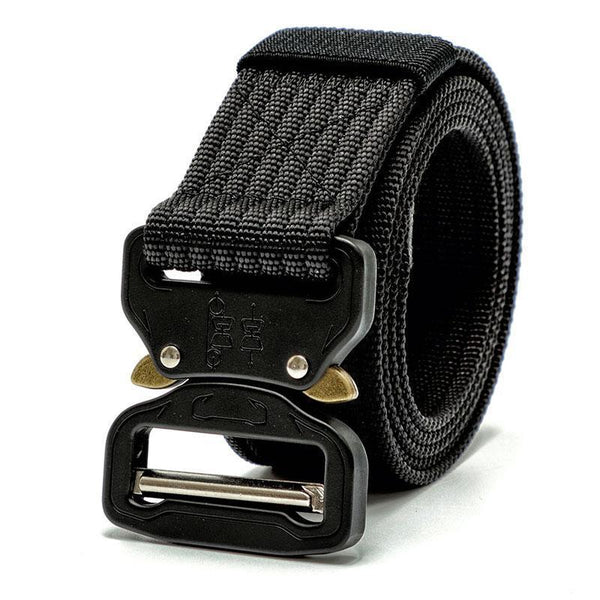 6 Color Tactical Gear Heavy Duty Belt Nylon Metal Buckle Padded Patrol Waist Belt T-As the picture show-JadeMoghul Inc.