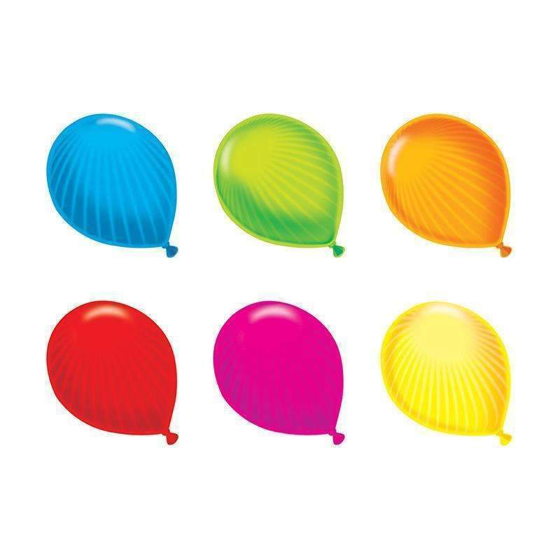 (6 PK) PARTY BALLOONS MINI ACCENTS-Learning Materials-JadeMoghul Inc.