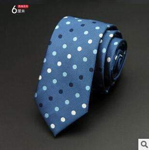 6cm Men Tie / New Fashion Dot Necktie-17-JadeMoghul Inc.