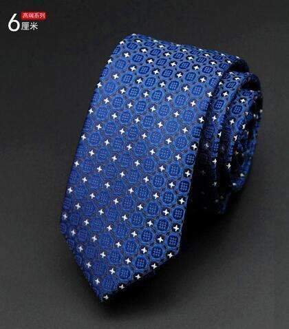 6cm Men Tie / New Fashion Dot Necktie-19-JadeMoghul Inc.