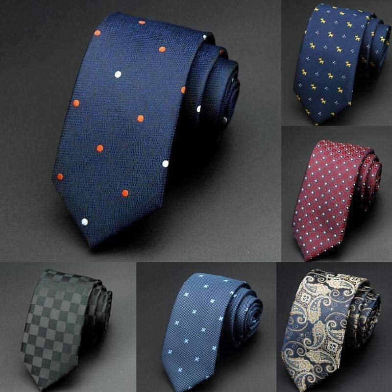 6cm Men Tie / New Fashion Dot Necktie-1-JadeMoghul Inc.