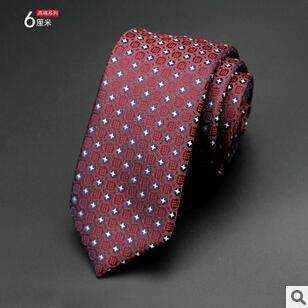 6cm Men Tie / New Fashion Dot Necktie-3-JadeMoghul Inc.