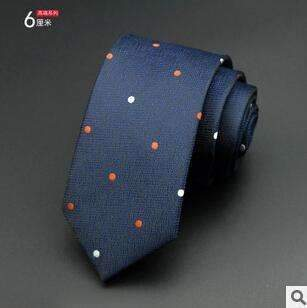 6cm Men Tie / New Fashion Dot Necktie-9-JadeMoghul Inc.