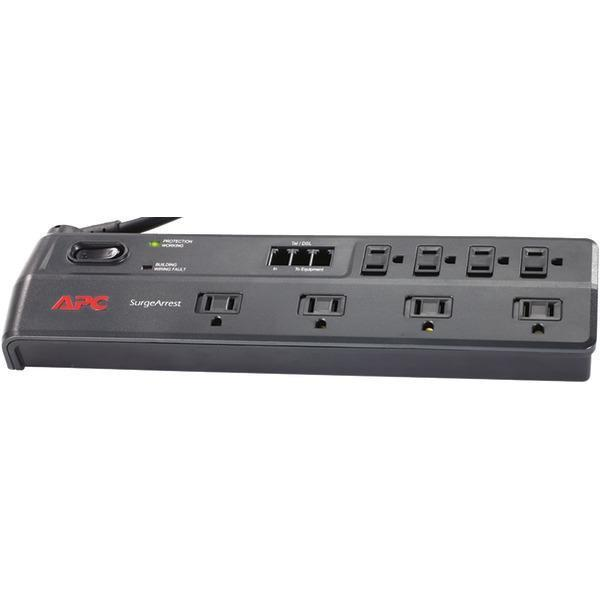 8-Outlet Essential SurgeArrest(R) Surge Protector (Telephone Protection)-Surge Protectors-JadeMoghul Inc.