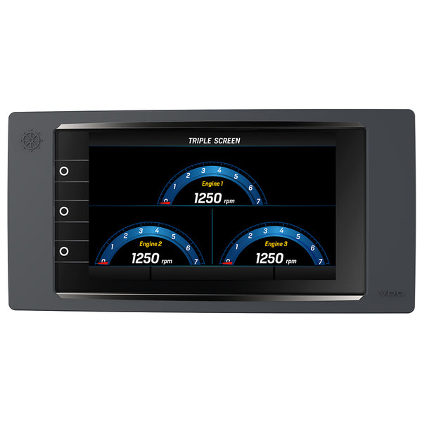 "VDO Marine 7"" AcquaLink Multifunction TFT Display - 12-24V - 800 x 480 Resolution - Black [A2C59501997]"