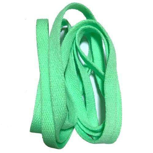 8mm Wide of Flat Shoelaces Shoe Laces for Sneakers Sport Shoes 24 Colors 80cm / 100cm / 120cm / 140cm / 160cm-No 22 apple green-100cm-JadeMoghul Inc.
