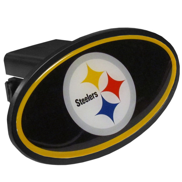 Pittsburgh Steelers Plastic Hitch Cover, Class III