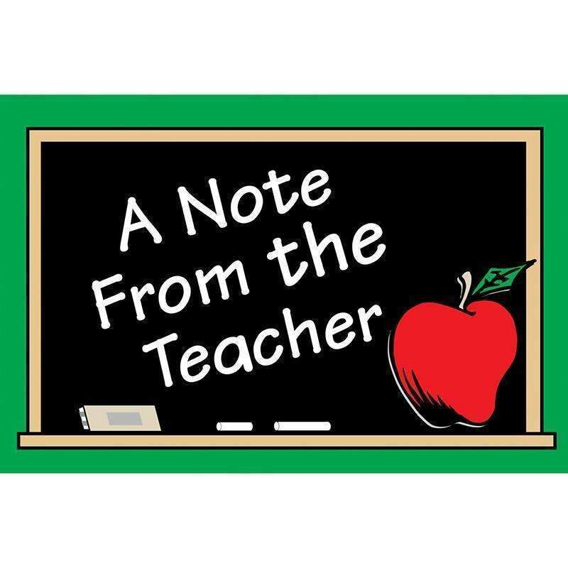A NOTE FROM THE TEACHER 30PK-Learning Materials-JadeMoghul Inc.