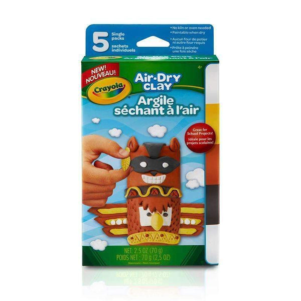 AIR DRY CLAY 5CT NEUTRAL VARIETY PK-Arts & Crafts-JadeMoghul Inc.