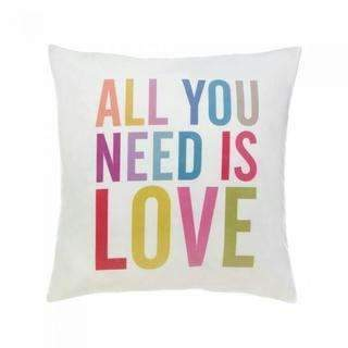 All You Need Is Love Decorative Pillow-Novelty & Decorative Gifts-JadeMoghul Inc.
