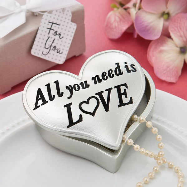 All you need is love heart shaped box from fashioncraft-Favor Boxes Bags & Containers-JadeMoghul Inc.