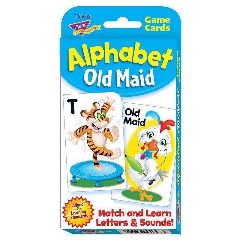 ALPHABET OLD MAID CHALLENGE CARDS-Learning Materials-JadeMoghul Inc.