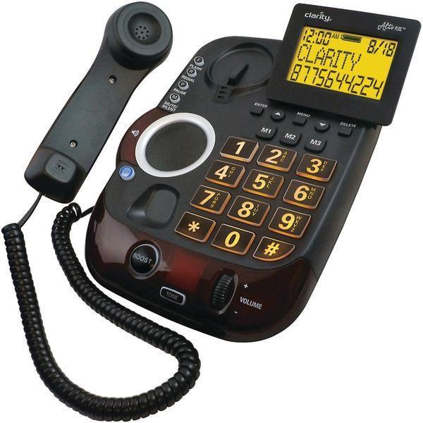 AltoPlus(TM) Amplified Corded Phone with Caller ID-Special Needs Phones-JadeMoghul Inc.