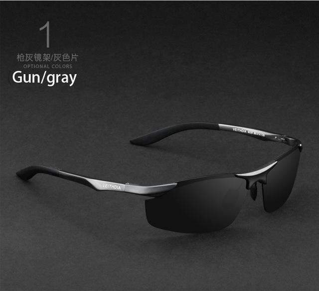 Aluminum Polarized Sunglasses / Men Sports Sunglasses-gray with box2-JadeMoghul Inc.