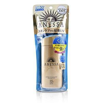 Anessa Perfect UV Sunscreen Skincare Milk SPF50+ PA++++ - 90ml/3oz-All Skincare-JadeMoghul Inc.