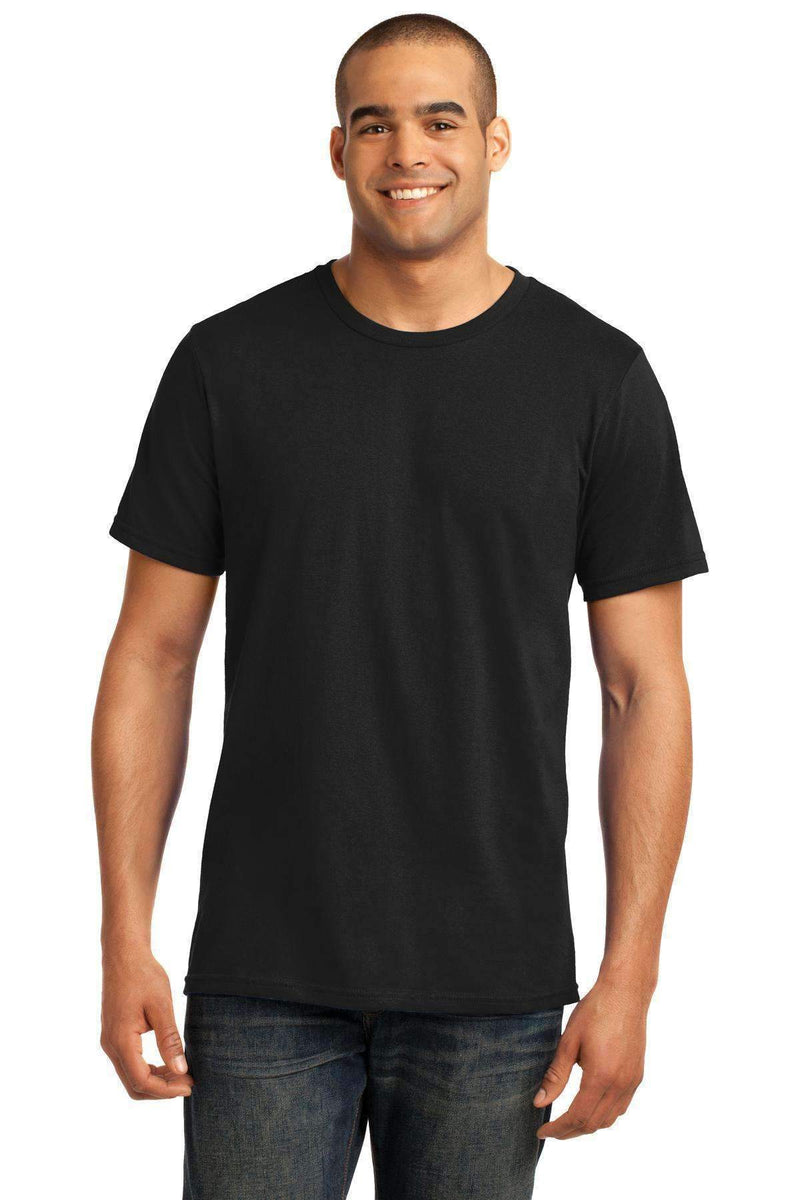 Anvil 100% Combed Ring Spun Cotton T-Shirt. 980-T-shirts-Black-2XL-JadeMoghul Inc.