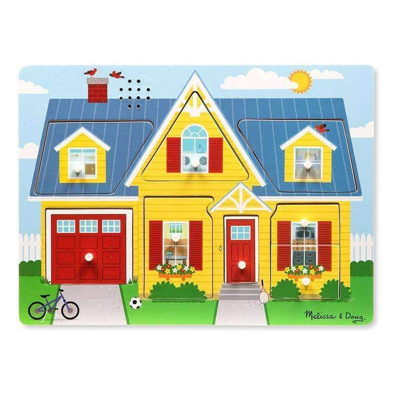 AROUND THE HOUSE SOUND PUZZLE-Toys & Games-JadeMoghul Inc.