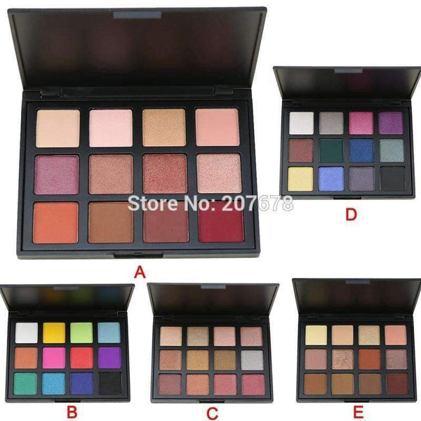 Attractive Scenery Brand 12 Color Eyeshadow Palette Eye Shadow Make up Palette Set Cosmetics 5 Model-A-JadeMoghul Inc.