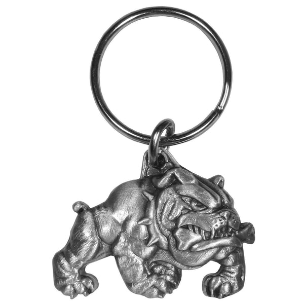 Authentic Sports Key Chains - Bulldog Antiqued Key Chain-Key Chains,Scultped Key Chains,Antiqued Key Chain-JadeMoghul Inc.