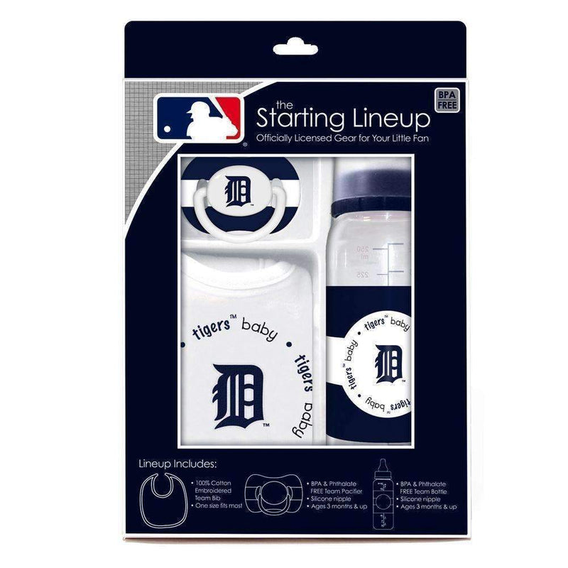 Baby Fanatic Gift Set - Detroit Tigers-LICENSED NOVELTIES-JadeMoghul Inc.
