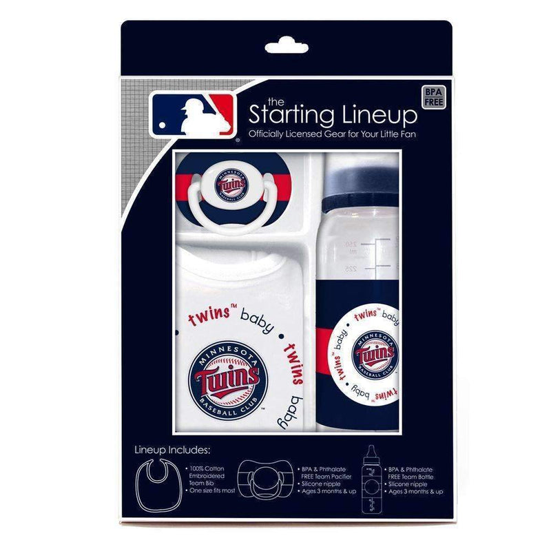 Baby Fanatic Gift Set - Minnesota Twins-LICENSED NOVELTIES-JadeMoghul Inc.