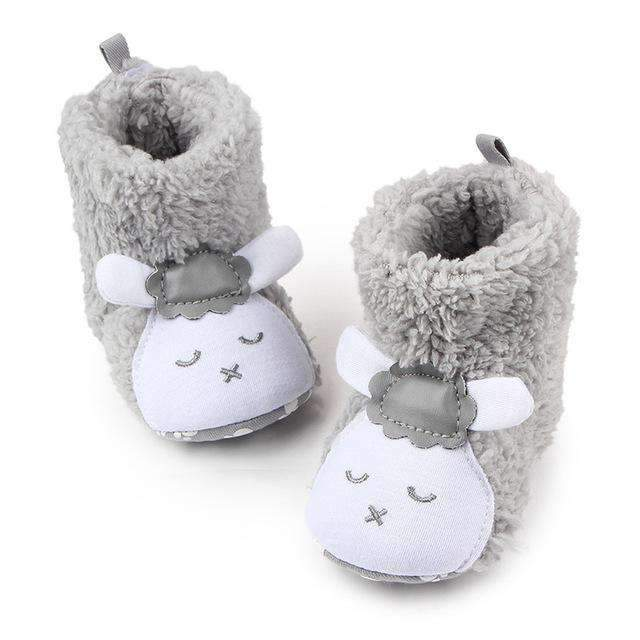 Baby Girls / Boys Cute Animal Winter Booties-ZZY0160H-0-6 Months-JadeMoghul Inc.