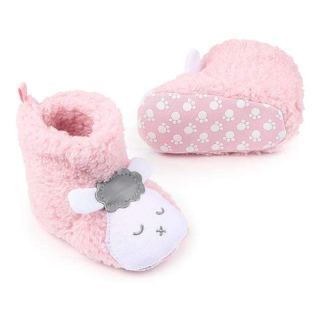Baby Girls / Boys Cute Animal Winter Booties-ZZY0160P-0-6 Months-JadeMoghul Inc.