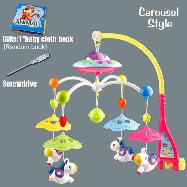 Baby Musical Crib Mobile-Carousel-China-JadeMoghul Inc.