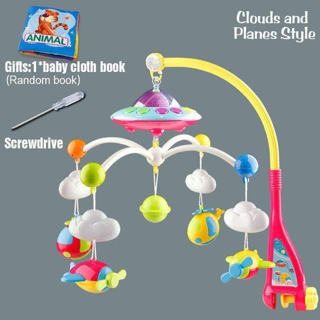 Baby Musical Crib Mobile-Clouds and Planes-China-JadeMoghul Inc.