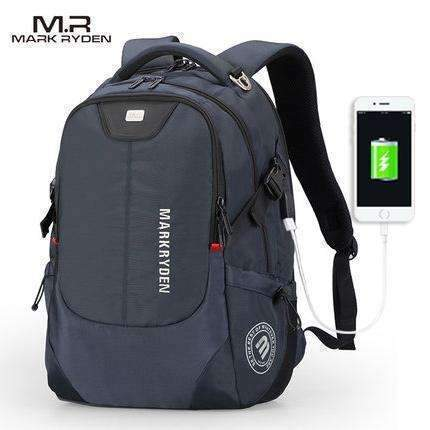 Backpack for Laptop 15 & 16 Inch Notebook / Computer Bags-blue USB-China-15inches-JadeMoghul Inc.