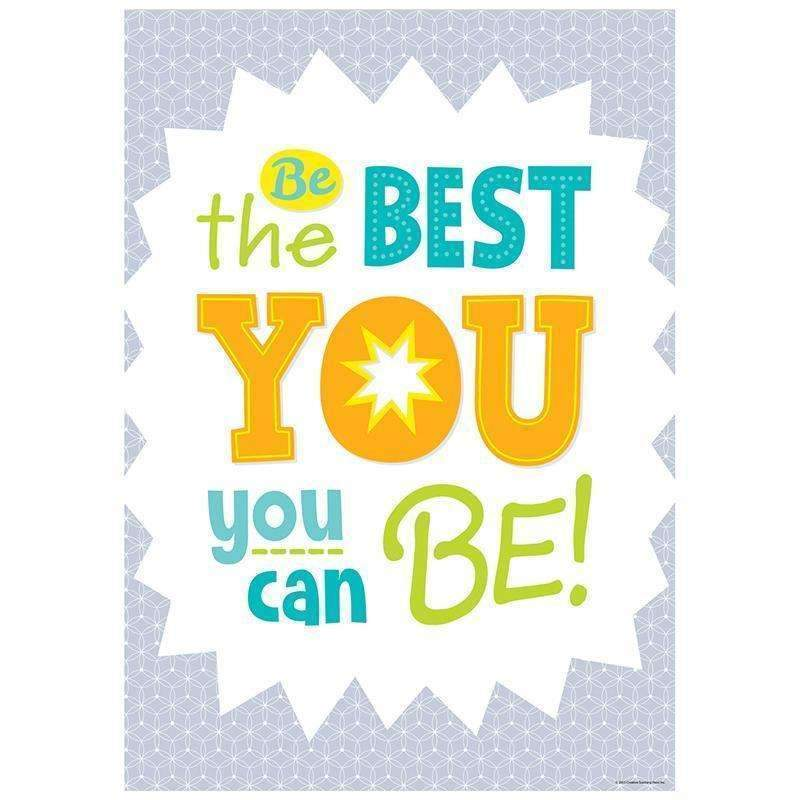 BE THE BEST YOU INSPIRE U POSTER-Learning Materials-JadeMoghul Inc.