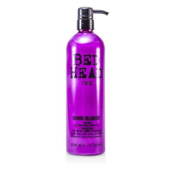 Bed Head Dumb Blonde Shampoo (For Chemically Treated Hair) - 750ml-25.36oz-Hair Care-JadeMoghul Inc.