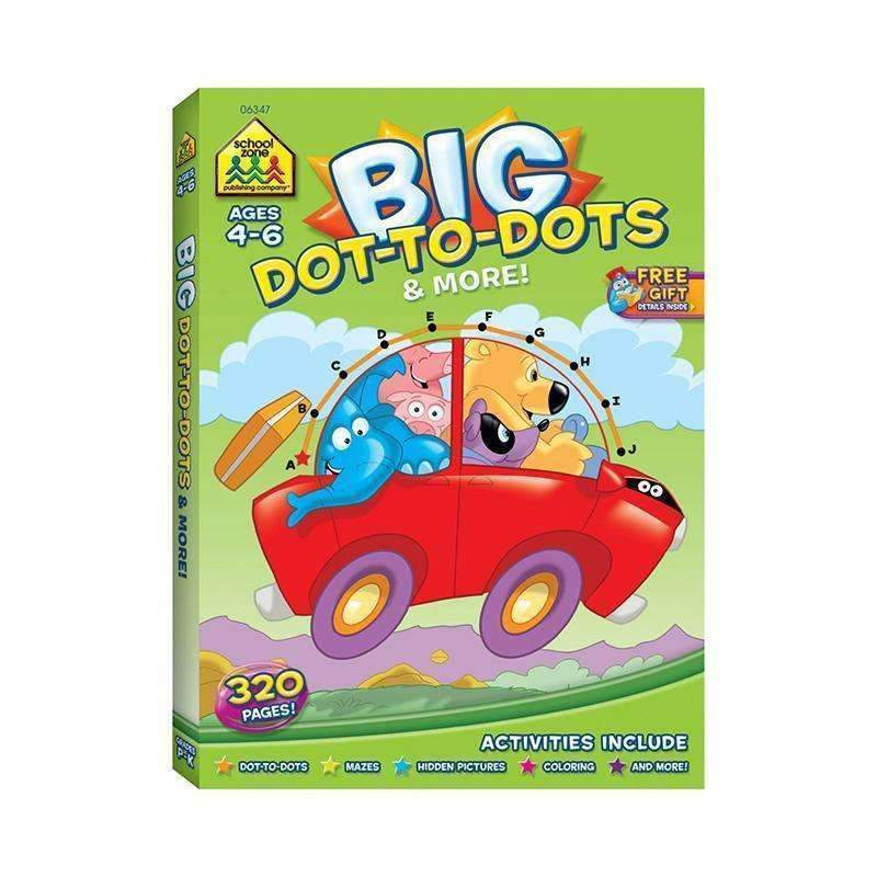 BIG WORKBOOK ALPHABET DOT TO DOTS-Learning Materials-JadeMoghul Inc.
