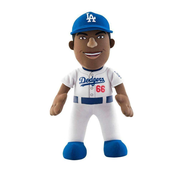 "Bleacher Creature MLB Los Angeles Dodgers Yasiel Puig 10"" Plush Doll-PLUSH-JadeMoghul Inc."
