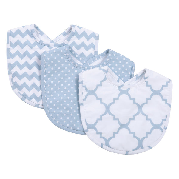 Blue Sky 3 Pack Bib Set-SKY BLUE-JadeMoghul Inc.