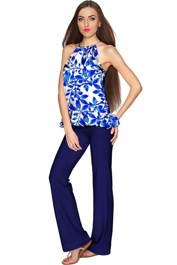 Blue Whimsy Angela Chic Set - Women-Whimsy-XS-White/Blue/Navy-JadeMoghul Inc.