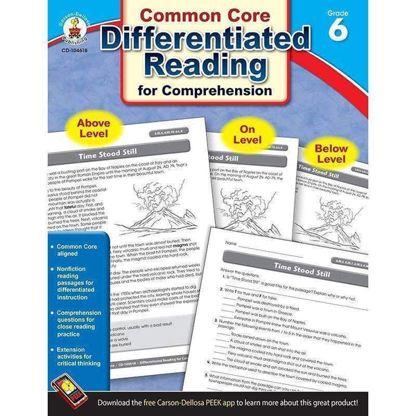 BOOK 6 DIFFERENTIATED READING FOR-Learning Materials-JadeMoghul Inc.